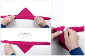 how to make a beautiful origami napkin rose