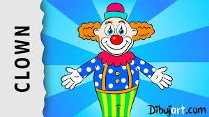 how to draw a clown u2014 wie zeichnet man einen clown youtube