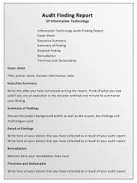 template for audit report audit report template printable templates