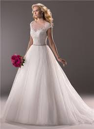 illusion neckline wedding dress gown illusion neckline tulle lace wedding dress with sheer back
