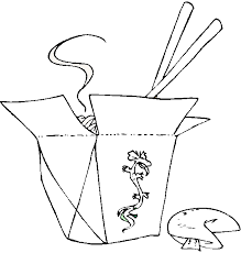 free ethnic food coloring pages