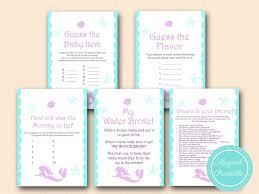 mermaid baby shower ideas mermaid baby shower magical printable