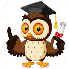 graduation owl owl wearing graduation cap royalty free cliparts vectors