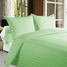 buy bed sheets with stripes 350 thread count green online in