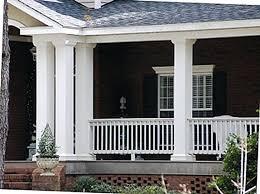 house columns porch 8 square non tapered fiberglass columns ranch