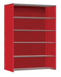 pre configured shurrack shelving systems u2013 single row u2013 open