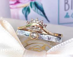 natural diamond rings images Natural diamond ring etsy jpg