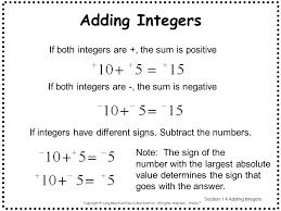 grade 7 math integers worksheets u0026 worksheet 612792 adding and