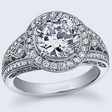 filigree engagement rings 2 15cts boky filigree diamond engagement ring