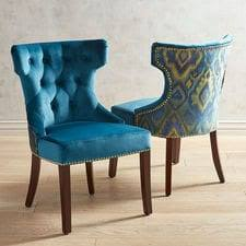 Teal Dining Room Chairs Dining Room Chairs Dining Room Furniture Pier 1 Imports