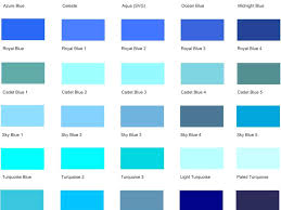 colour shades with names blue color shades dayri me