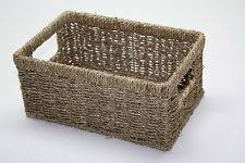 Seagrass Storage Ottoman Seagrass Home Storage Baskets Ebay