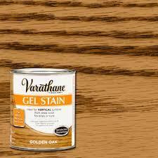 varathane 1 qt golden oak gel stain case of 2 266339 the home
