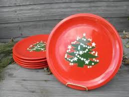 6 and green tree dinner plates waechtersbach pottery