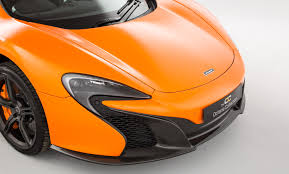 orange mclaren rear mclaren 650s the octane collection