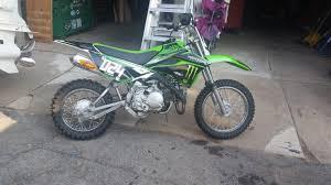 kawasaki klx 110 monster motorcycles for sale