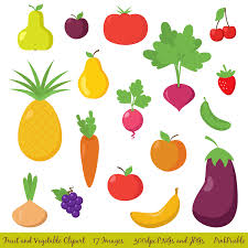 clipart pictures of fruits and vegetables clipartxtras