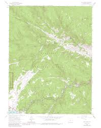Colorado Elevation Map by Crosier Mountain Colorado