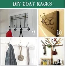 diy home interior design coat rack ideas tip junkie diy coat rack shelf coat rack home