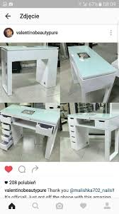 manicure table with built in led light manicure table manicures pinterest manicure salons and nail