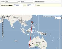 distance between two points map distancefromto tool for finding the distance between two points