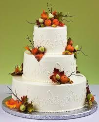 fall wedding cakes fall autumn wedding cake designs