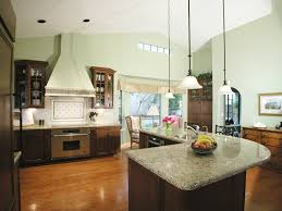 functional l shaped kitchen island