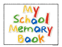 write on an end of the school year memory book by grade factory