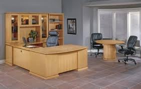 Maple Office Desks Series Desk Set And Office Furniture Maple Finish
