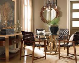 Drexel Renderings Voussoir Pedestal Dining Table W Glass Top - Drexel heritage dining room