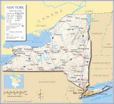 Map Of New Jersey Shore Reference Map Of The State Of New York Usa Nations Online Project
