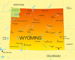 Pandas Map Wyoming Vector Color Map Of Clipart Panda Free Clipart Images