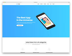 free website templates for android apps best free android app website templates 2018