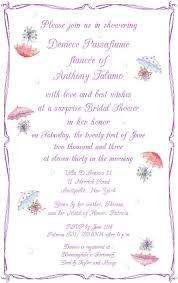 Words For Bridal Shower Invitation Sample Bridal Shower Invitations Vertabox Com