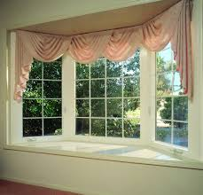 decorations simple beautiful bay window with cute pink window