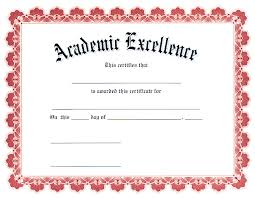 29 images of academic award certificate template infovia net