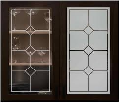 Kitchen Cabinet Doors With Glass Fronts by Cabinet Glass Sans Soucie Art Glass