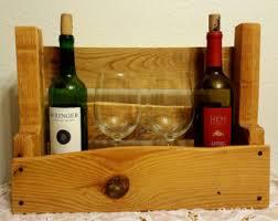 countertop wine rack etsy