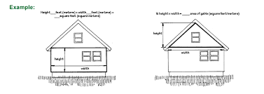 calculating square footage of a house measure for new siding vinyl fiber cement wood cedar shakes