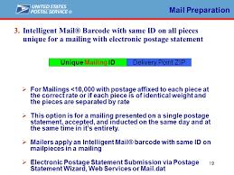 Postalone Help Desk 1 Intelligent Mail Barcodes Mail Preparation Mtac November 8 Ppt