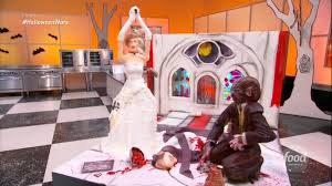spooky wedding cakes thrill in u0027halloween wars u0027 finale video
