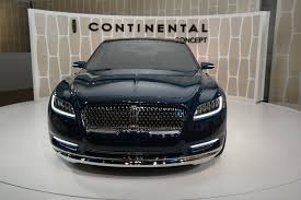 Lincoln Continental Matrix Lincoln Introduces The Continental Concept Nyias G Style Magazine