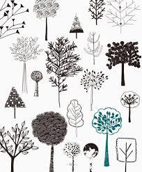 20 ways to draw trees from rachael taylor u0027s book 20 ways to draw