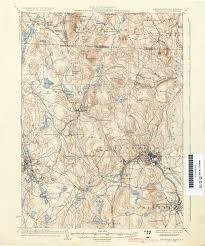 Map Of Cambridge Ma Massachusetts Historical Topographic Maps Perry Castañeda Map