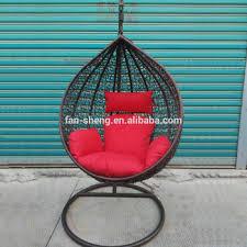Patio Egg Chair Patio Furniture Rattan Hanging Swing Cum Jhula Swings Basket Egg