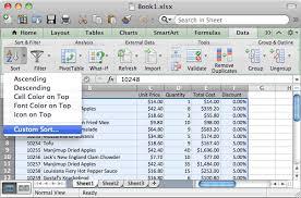 ms excel 2011 for mac sort data in alphabetical order based on 2