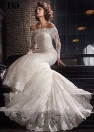 modest lace off shoulder wedding dresses australia new featured