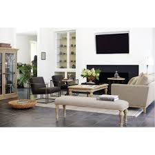 bernhardt interiors natural oak montreal sofa fabric sofas