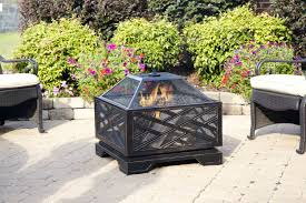 fire pit wood deck what fire pit is safe for decks know before buy