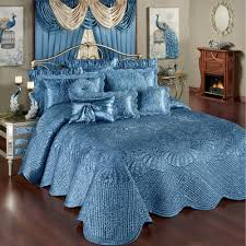 Designer Bedspreads And Comforters Luxury Bedspreads Touch Of Class